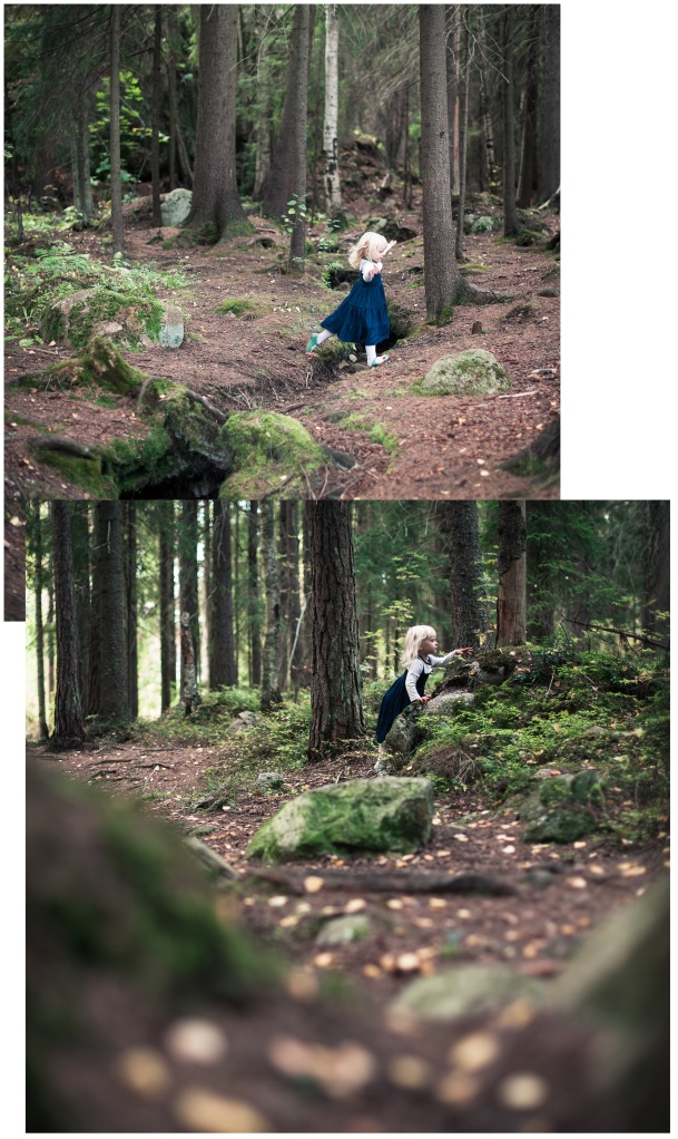 Little Miss Hatboy in the forest (2)