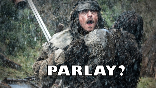 Parlay? Same guy. I was also the first one to make this joke. I googled it.