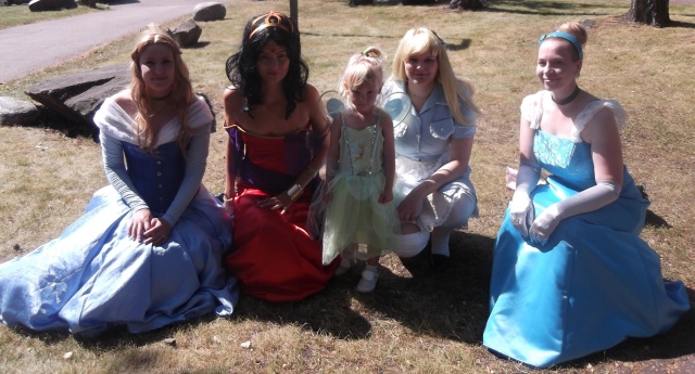 Four Princesses and Serious Business Fairy.