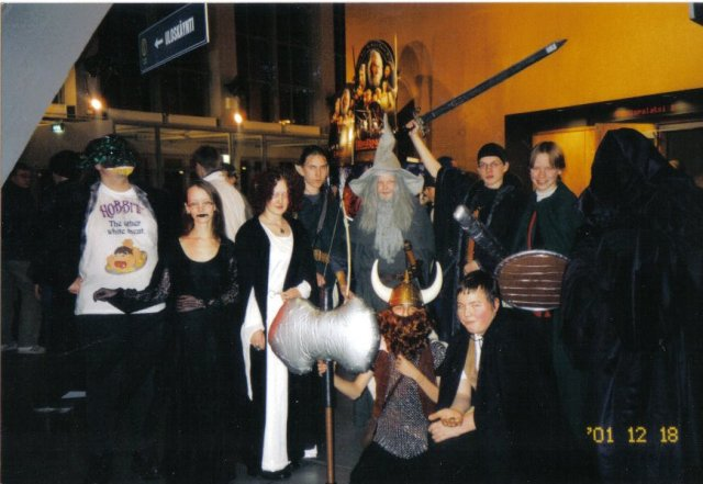Fellowship of the Ring, December 2001.