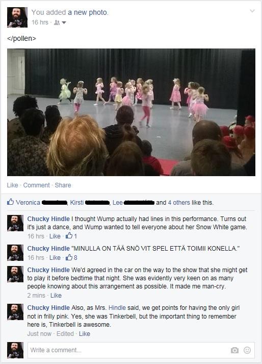 Wump's dance recital