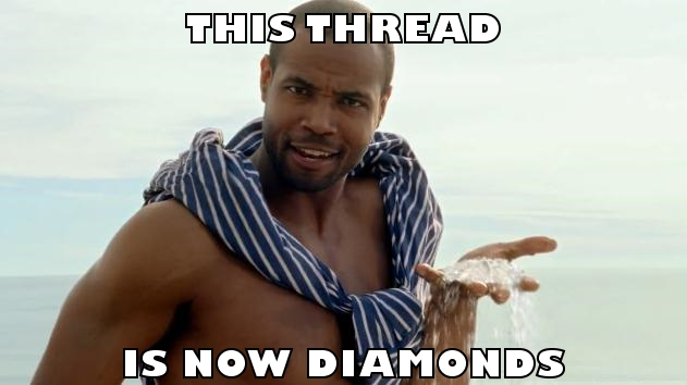 thread diamonds