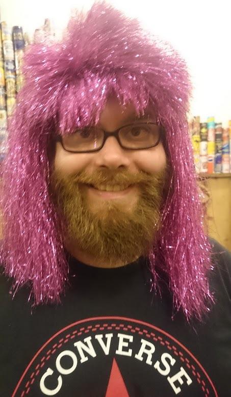 The wig went around.