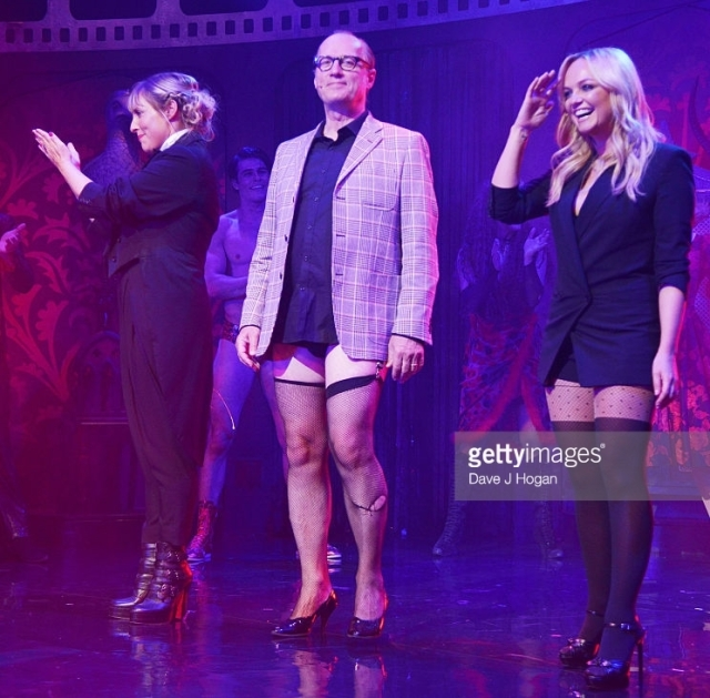 The Gala Charity of Richard O'Brien's Rocky Horror Show in Aide of Amnesty International, which was broadcast live to cinemas throughout the UK and Europe, at Playhouse Theatre on September 17, 2015 in London, England.